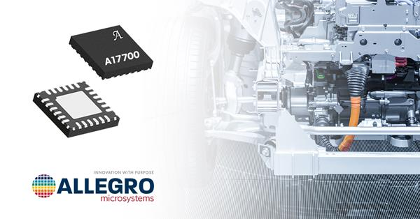 Allegro's A17700 delivers fast, reliable, and flexible output with top-of-the-line signal conditioning algorithms for automotive and industrial pressure sensing applications.
