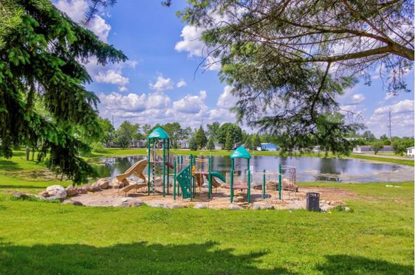 New Playground at Orion Lakes