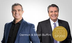 Swanepoel Power 200 has once again recognized Buffini & Company chairman and founder, Brian Buffini, and chief executive officer, Dermot Buffini, as some of the most influential leaders in the real estate industry.