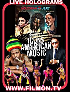 Scott Storch Presents Icons of American Music, a live hologram event on pay-per-view  featuring Jackie Wilson, Chief Keef, Billie Holiday and Ray J in a live ayahuasca shamen experience. The event celebrates Swissx's 5th anniversary and the Hemp Bill of 2020 in Antigua & Barbuda. Check local listings or go to FilmOn.com.