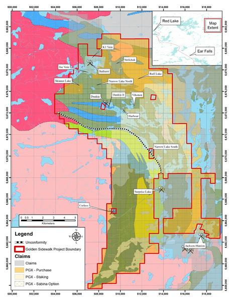 Prosper Gold Corp. Acquires Additional 7,400 Hectares at Golden Sidewalk – Red Lake Ontario