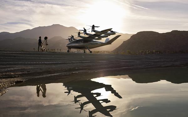 Archer's eVTOL aircraft.
