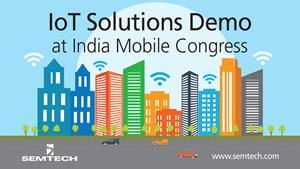 Semtech, Tata and HPE at India Mobile Congress