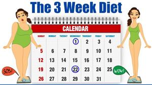 The 3 Week Diet Plan Is A Quick Weight Loss Diet Plan Says ...