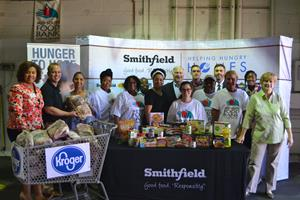 Smithfield Foods' Helping Hungry Homes® Partners With Kroger to
