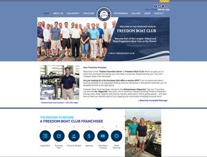 Freedom Boat Club Launches New Franchise Website