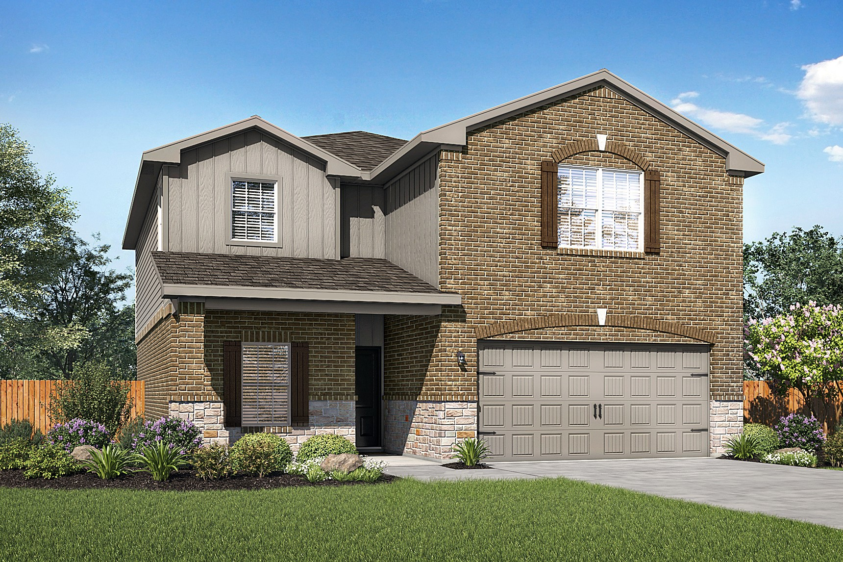 The Victoria plan is now available at Hightop Ridge in Converse, Texas.