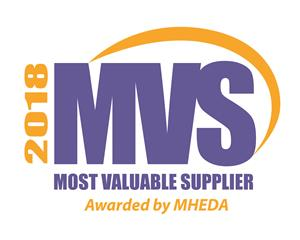 MHEDA Most Valuable Supplier Award Winner 2018
