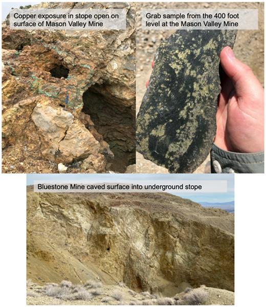 Figure 4: Mason Valley Historical Mines