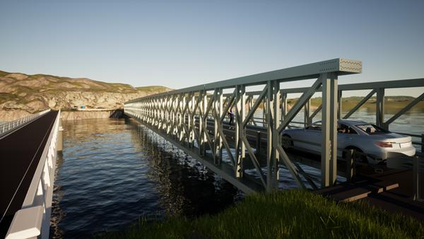 Mabey Bridge Delta Hebrides
