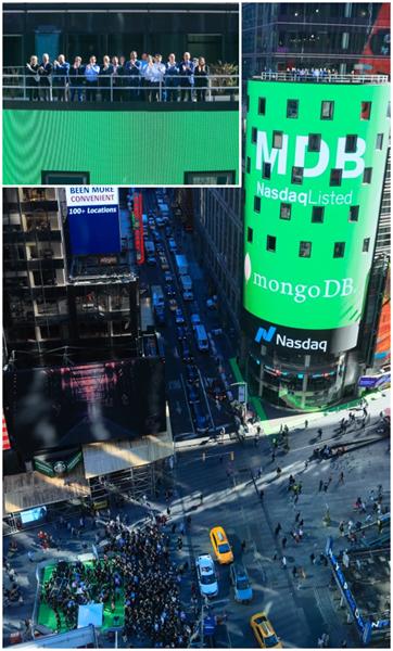 MongoDB Nasdaq Tower