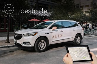 Alto's Intelligent Fleet Managed by Bestmile