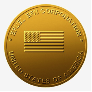 EFLN Gold Coin side 1 prototype