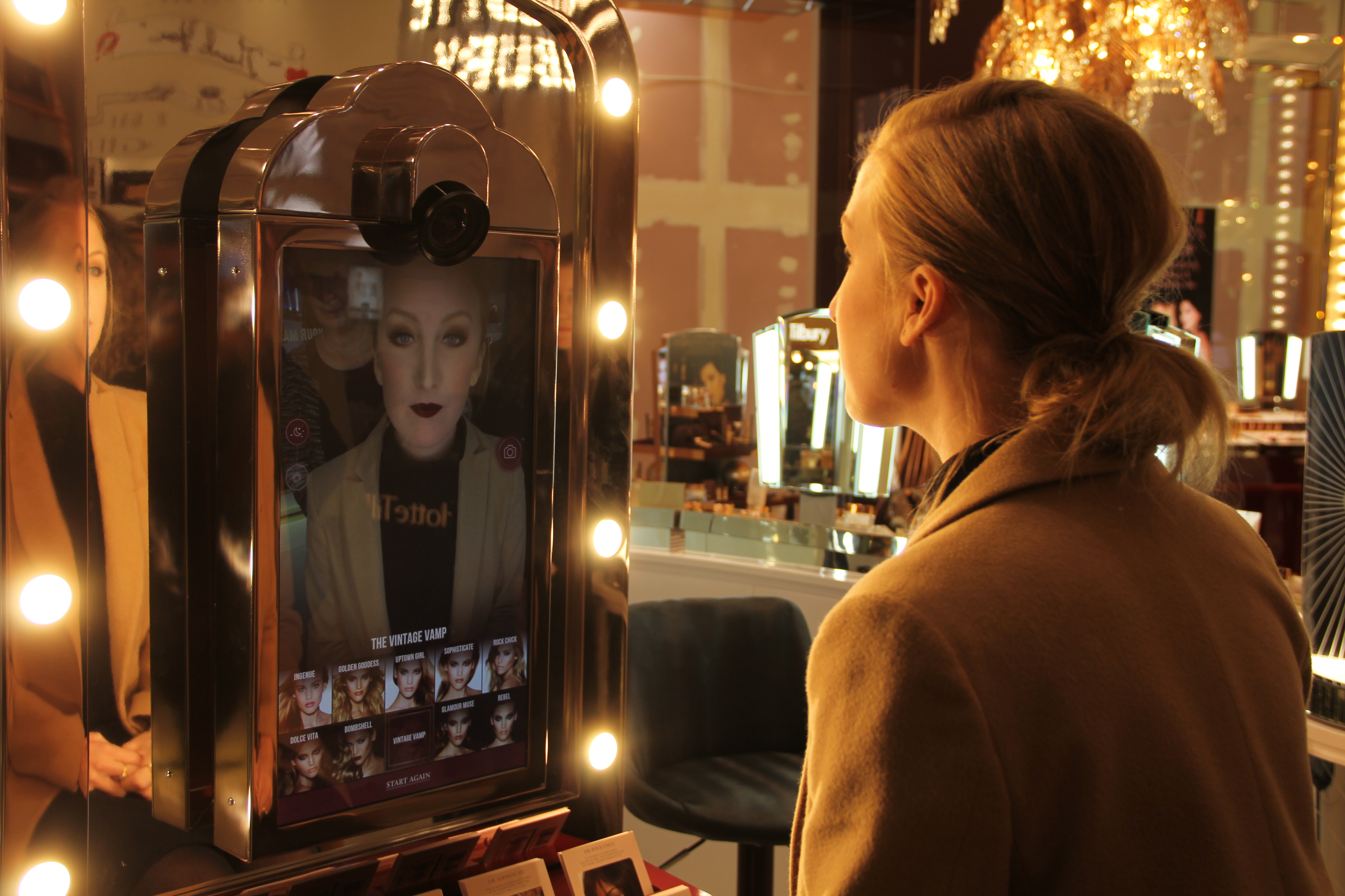 Charlotte Tilbury Magic Mirror Produced by Holition
