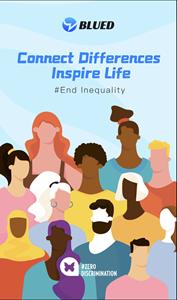 Blued's Zero Discrimination Day Campaign poster