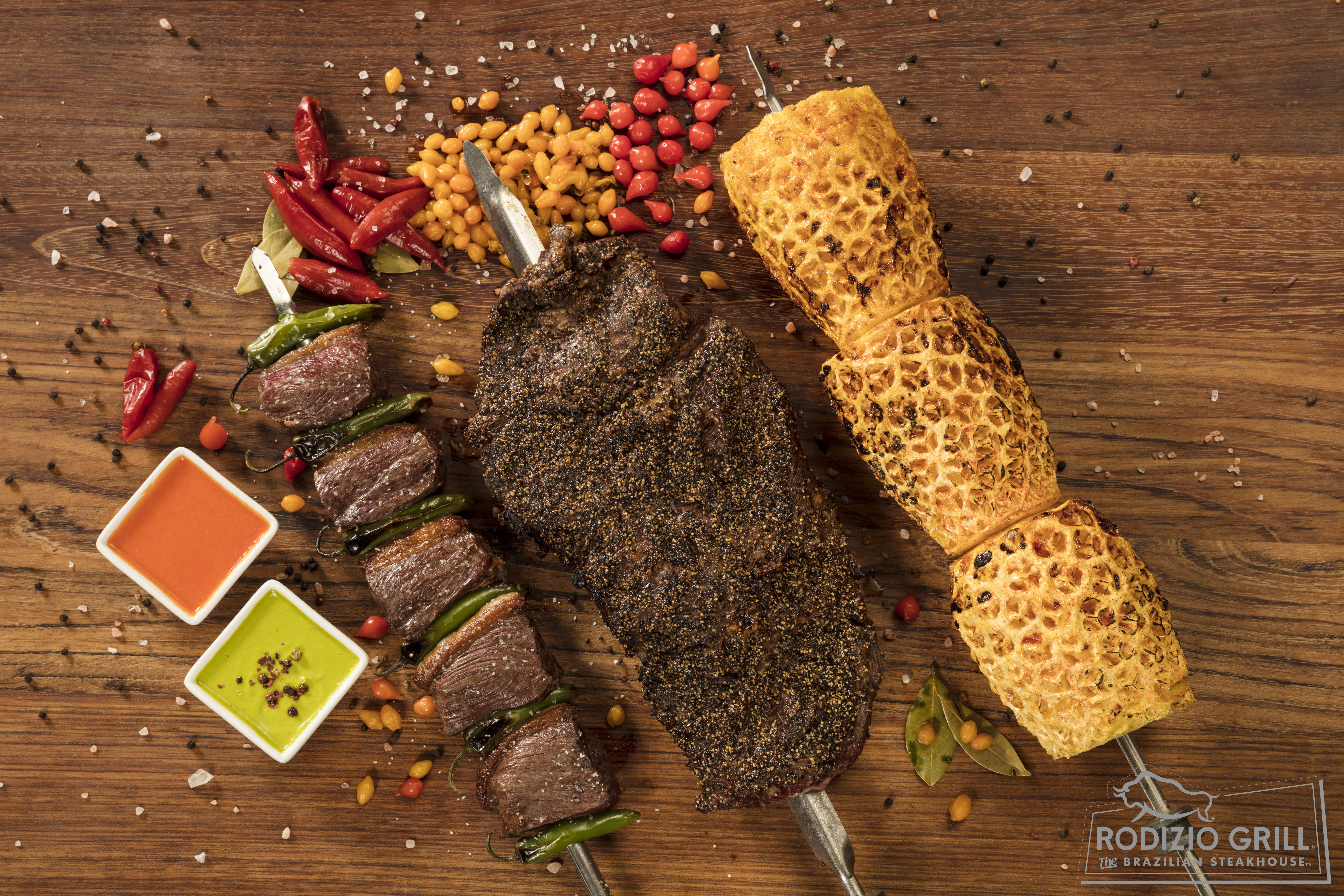 Rodizio OnFire Grilled Items