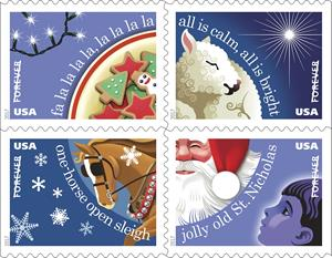 Postal Service To Dedicate Christmas Carols Forever Stamps