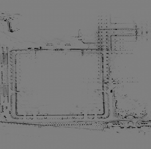 High Resolution Point Cloud Map.