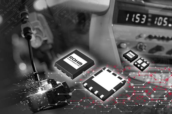 ROHM's new 24-model lineup of 24V input, -40V / -60V withstand voltage P-channel MOSFETs are ideal for industrial and consumer applications