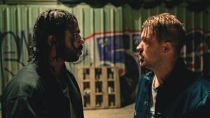 Daveed Diggs and Rafael Casal in Blindspotting