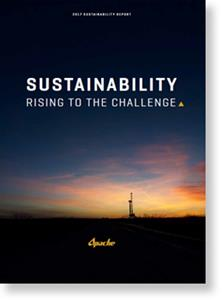 Apache Corporation 2017 Sustainability Report Thumbnail
