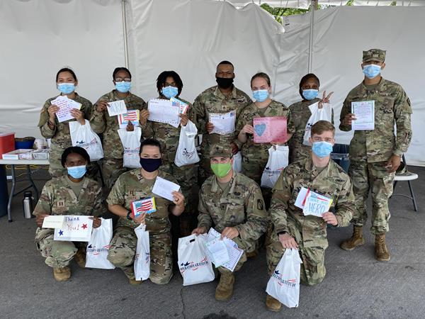 Operation Gratitude's mission is to forge strong bonds between Americans and their military and first responder heroes through volunteer service projects, acts of gratitude, and meaningful engagements in communities nationwide.