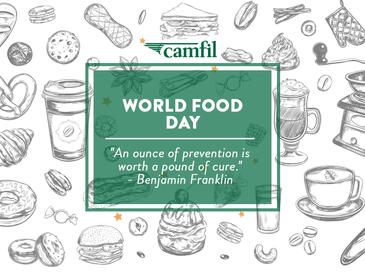 Camfil Celebrates the 75th Annual World Food Day