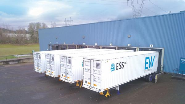 ESS, Inc. Energy Warehouse