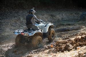 A first this year, Yamaha Grizzly owners got in the mix, kicking off Saturday's festivities through the rugged and diverse trails in the Tennessee hill country.