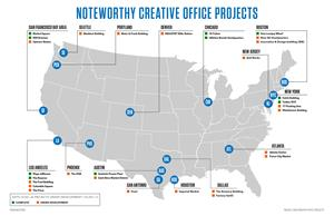 Noteworthy Creative Office Projects