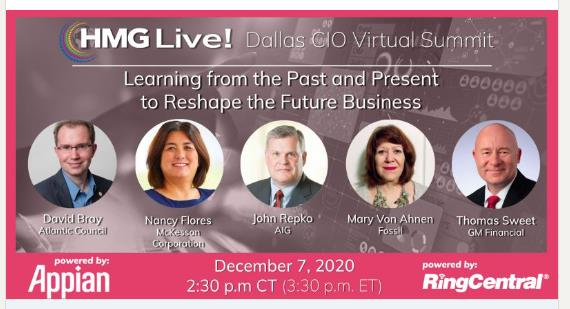 2020 HMG Live! Dallas CIO Executive Leadership Summit