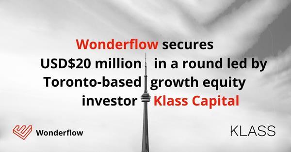 Wonderflow $20M Social Announcements - text