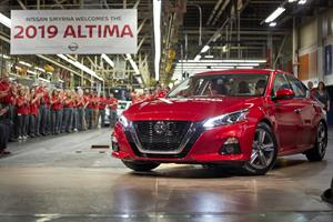 2019 Nissan Altima Start of Production