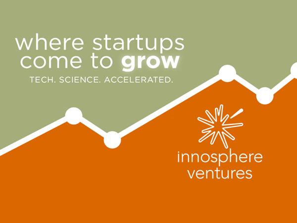 About Innosphere Ventures Fund: Innosphere Ventures Fund is a venture capital fund that leads early-stage investments for companies who are driving innovation in the B2B SaaS Software, Cleantech, and MedTech sectors.  About Innosphere Ventures: Innosphere's non-profit accelerator program has a strong mission to grow the region's entrepreneurship ecosystem by supporting the success of science and technology companies with an exclusive commercialization program for high-tech startups and specialized laboratory facilities. https://innosphereventures.org/