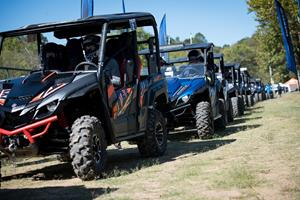Yamaha's XT-R Challenge – now an annual celebration of fun, family, and superior off-road capability – put YXZ1000R and Wolverine SxS drivers and their co-pilots up against the demanding natural and manmade obstacles while spectators cheered them on.