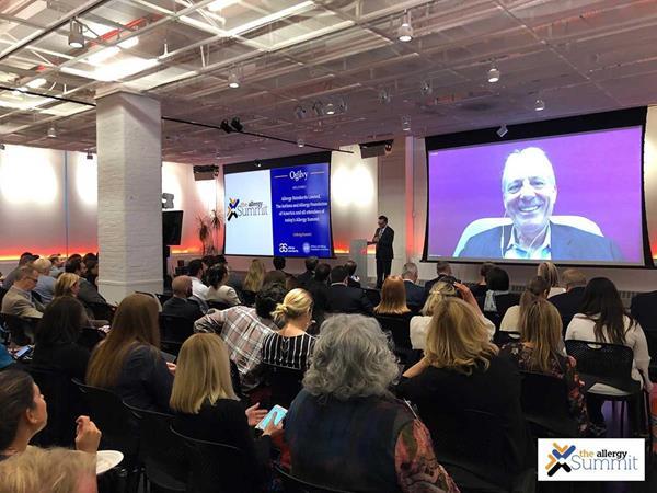 On screen Chris Graves, President and Founder, Ogilvy Center for Behavioral Science