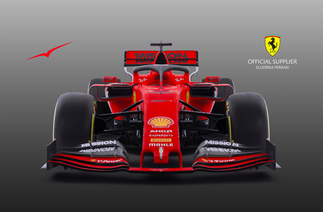 Scuderia Ferrari Mission Winnow_VistaJet_car image