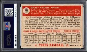 1952 Topps Mickey Mantle Card Sells For 288 Million Nasdaqclct