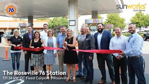 Roseville 76 Station Ribbon Cutting Ceremony