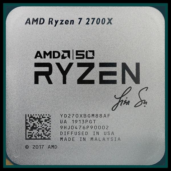 AMD_Ryzen_7_2700X_Lisa Su Signature