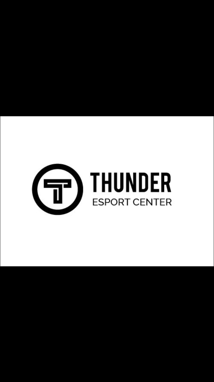 Thunder Esport Center Logo