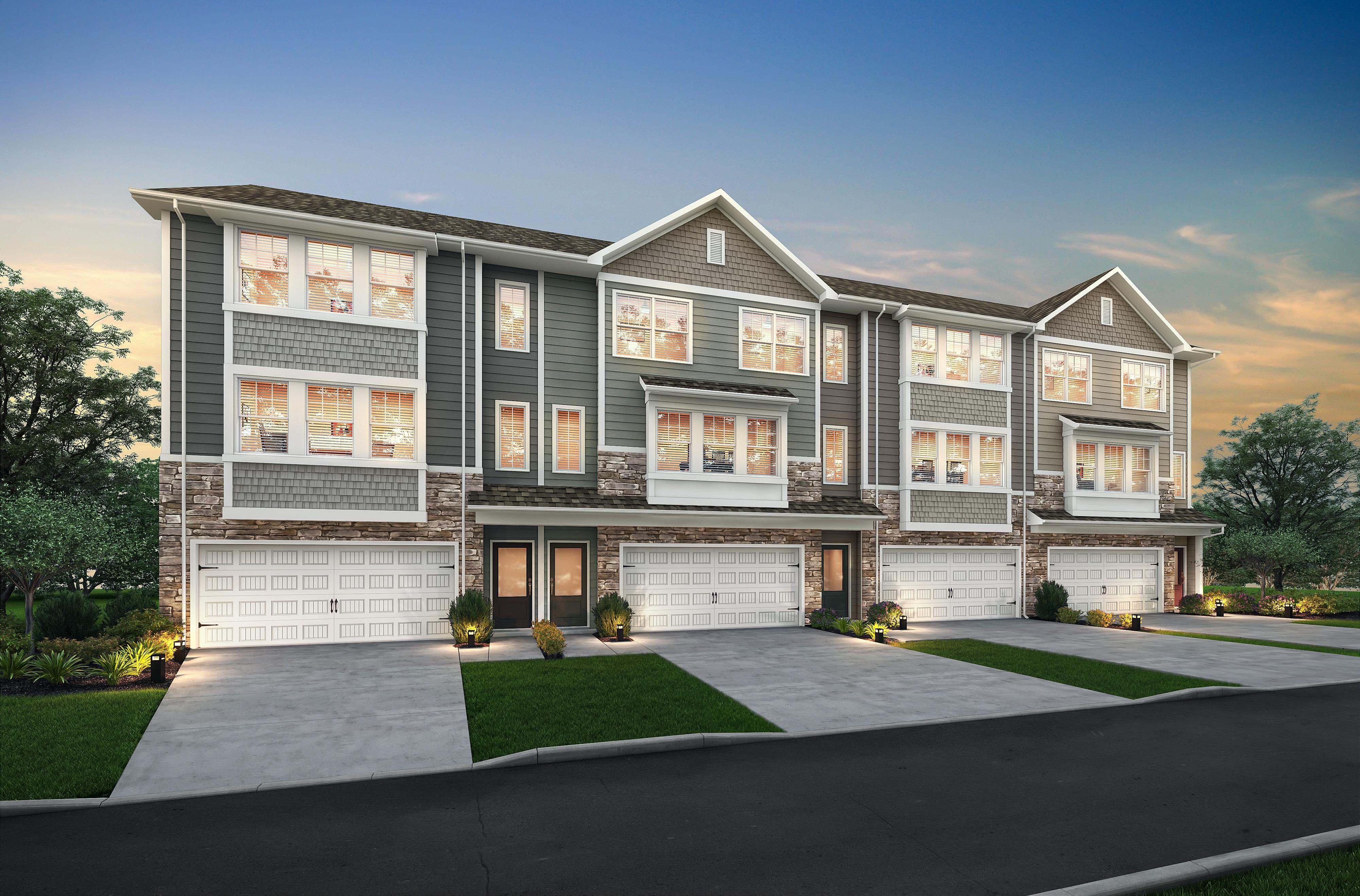 The Bradford plan by LGI Homes