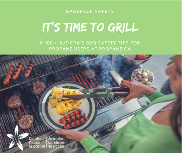 Barbecue Safety Tips with the Canadian Propane Association!