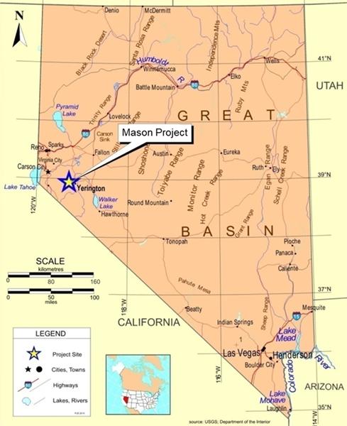 Figure 1: Mason Location Map