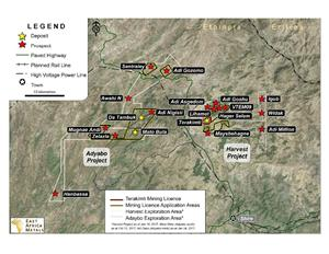 Mining Licence Application Areas