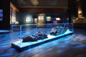 Guangdong Museum - Titanic Exhibition Wreck Site Model
