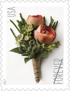 Postal Service Issuing Celebration Corsage and Celebration