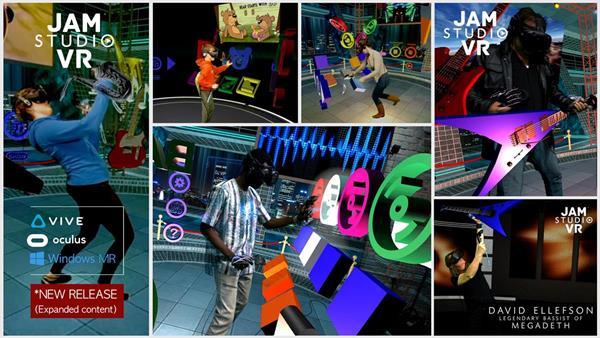 Jam Studio VR In Action