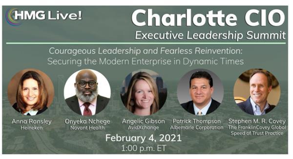 2021 HMG Live! Charlotte CIO Executive Leadership Summit