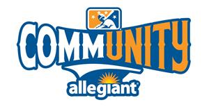 MiLB CommUNITY Initiative, presented by Allegiant